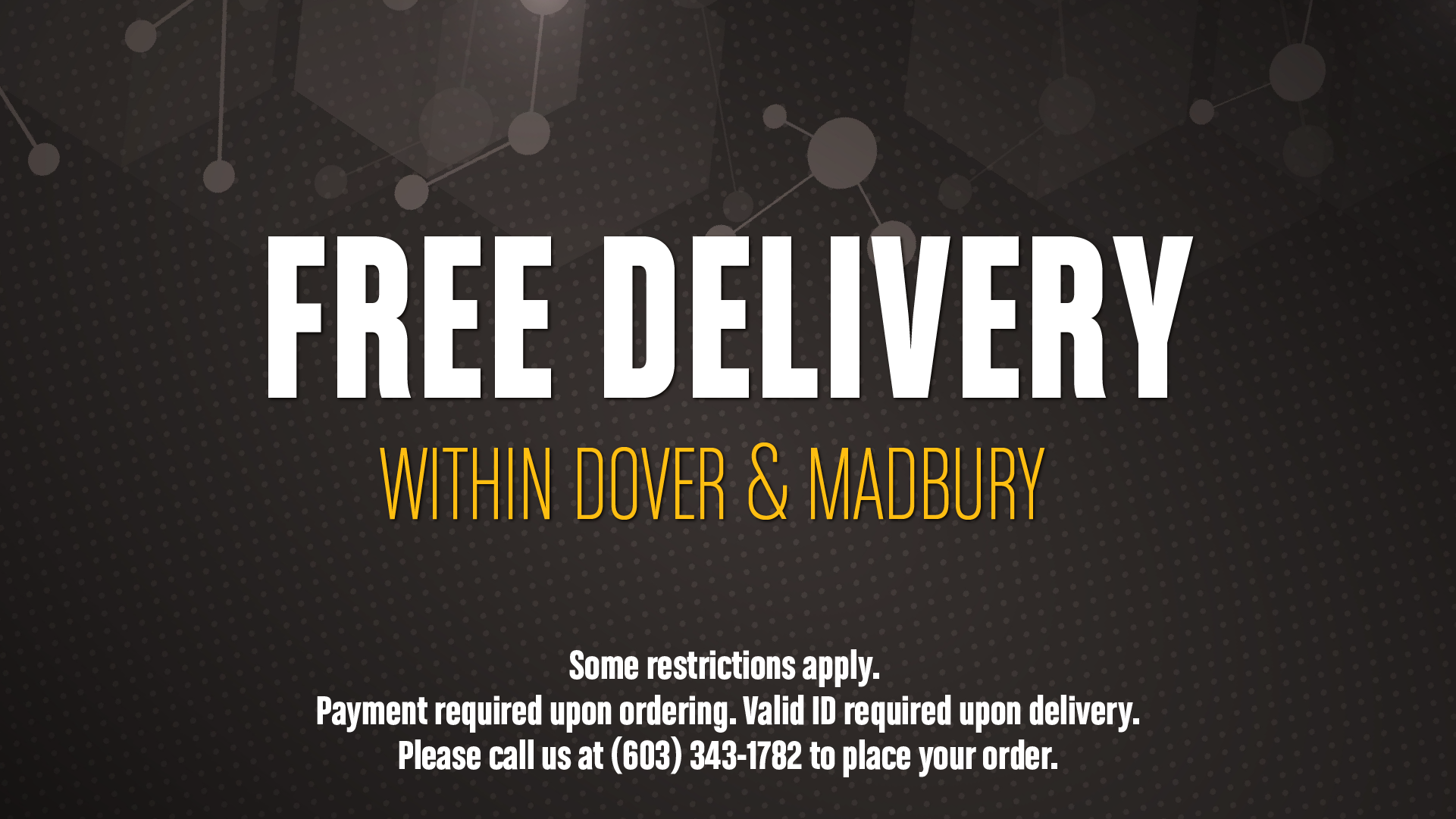 FREE DELIVERY WEB